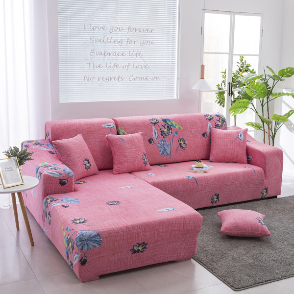 1-4 Seats Stretch Sofa Cover Couch Lounge Slipcover Protector Peacock,1 Seater
