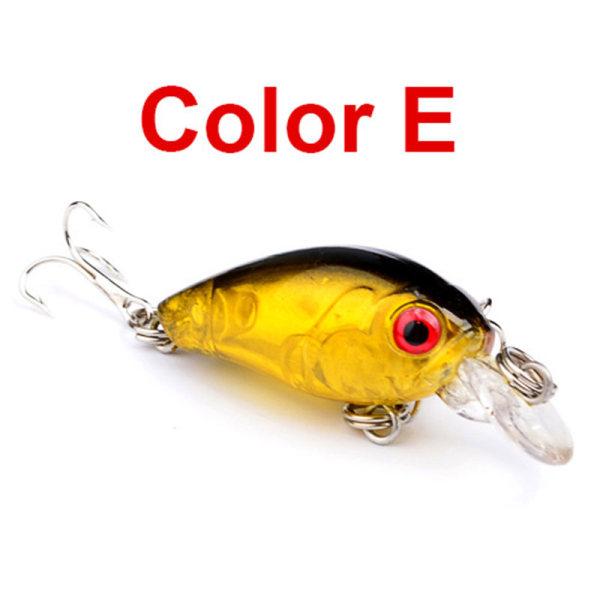 66mm 1/6/12Pcs Minnow Fishing Lures E 1PC