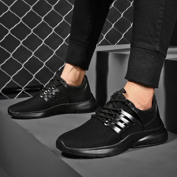 Cost-effective - MEN-Trainer&Sneaker-Flying Mesh&Sports&Athletic Black,44