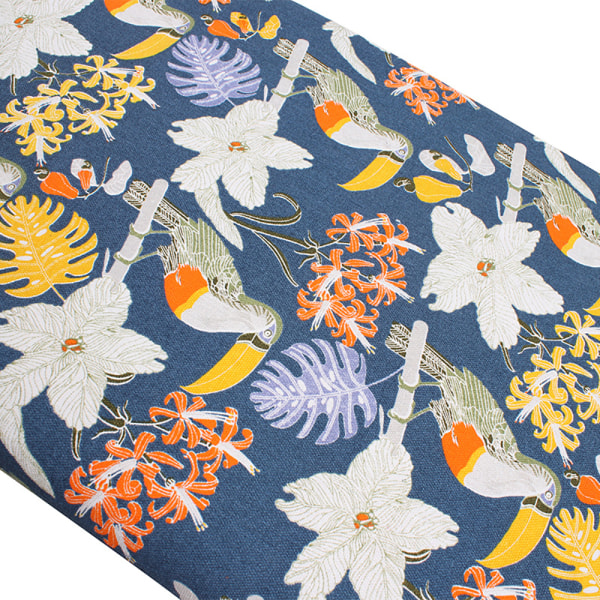 Ironing Board Cover Thick Padding Heat Resistant Scorch Pad Navy Blue Toucan 140x50cm
