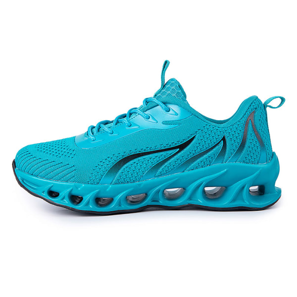 Men's Athletic Sneakers Walking Sports Running Trainers Shoes Lake Blue,39