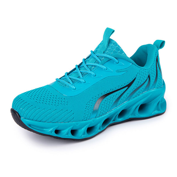 Men's Athletic Sneakers Walking Sports Running Trainers Shoes Lake Blue,46