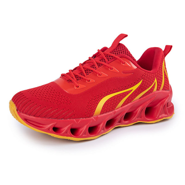 Men's Athletic Sneakers Walking Sports Running Trainers Shoes Red,44