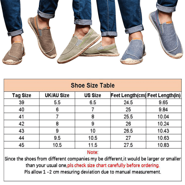 Men's fashion breathable canvas shoes outdoor casual shoes Gray,41