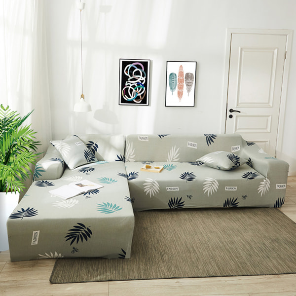 Sofa Cover Recliner Lounge Couch Slipcover Protector 1-4 Seater #08 Shamrock,2 Seater