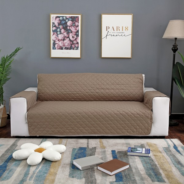 """Sofa Covers Couch Washable Furniture Protector Pet Waterproof Gray,45""""x77"""""""
