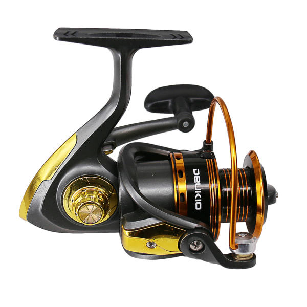 Spinning Fishing Reel 5.0:1 Gear Ratio Fishing Coil Max Drag 8KG Silver,3000