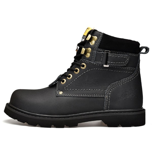 Unisex adult cycling boots with household warm shoes Black,46