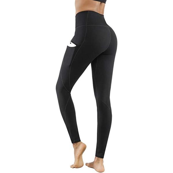 Women High Waist Black Mesh Leggings Gym Yoga Pants Running Sports Fitness Tight
