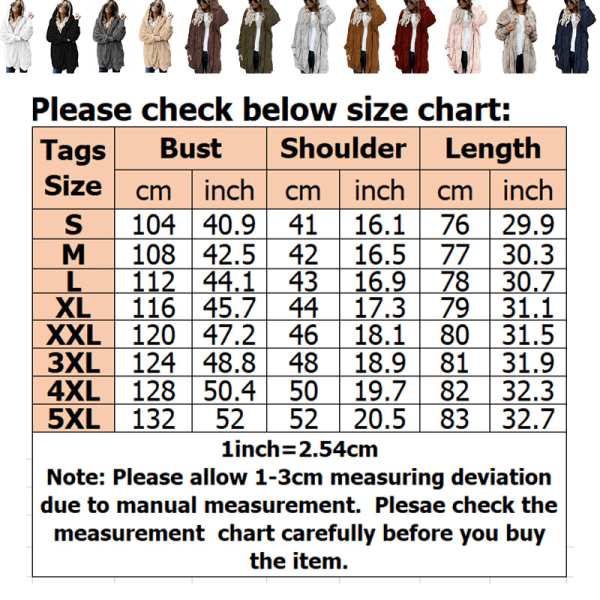 Women loose stitching hooded double-sided velvet jacket cardigan ArmyGreen,4XL