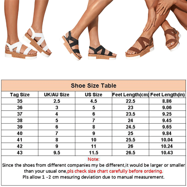 Women's casual slope heel summer fashion sandals hollow shoes Black,41