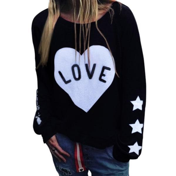 Women's Hooded Sweatshirts Women's Hoodie Tops Pullovers black,XXL