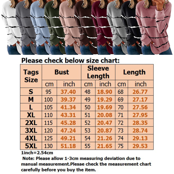 Women's knitted sweater casual long-sleeved pullover sweatshirt Black,5XL
