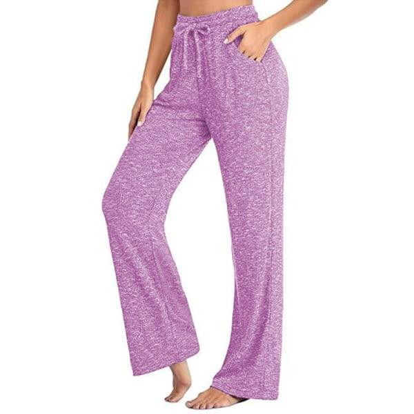 Women's loose Yoga Dance Pants jogging pants sports pants Pink,5XL