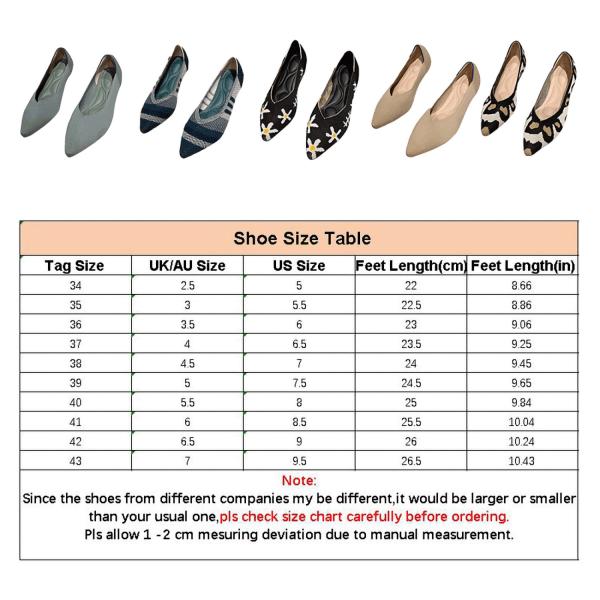 Kvinnors klänning fest skor spetsiga tå casual skor sandaler Black,43