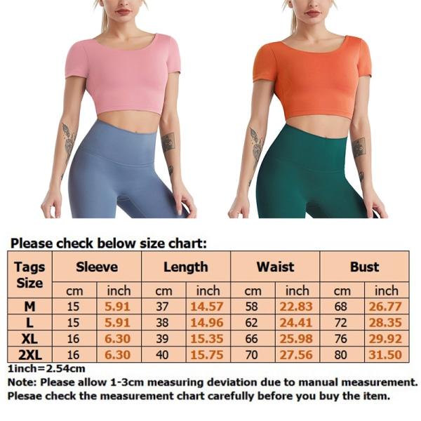 Women'S Yoga Top Cutout Halter Hollow Short Sleeve T-Shirt Light Pink,L