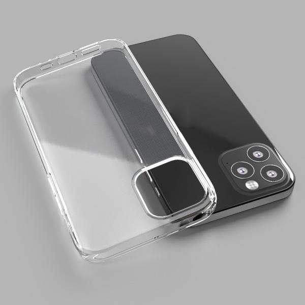 2 pack iPhone 12 Mini slimmat, genomskinligt, silikon skal Transparent