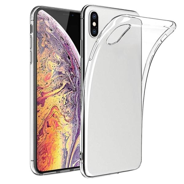 iPhone 12 PRO MAX slimmat, genomskinligt, silikon skal  Transparent / Genomskinligt