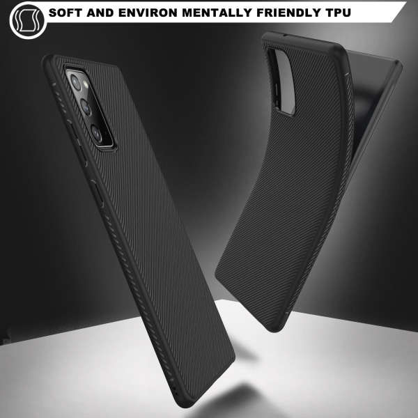 Stryktåligt Och greppvänligt skal Till Samsung Galaxy Note 20  blå