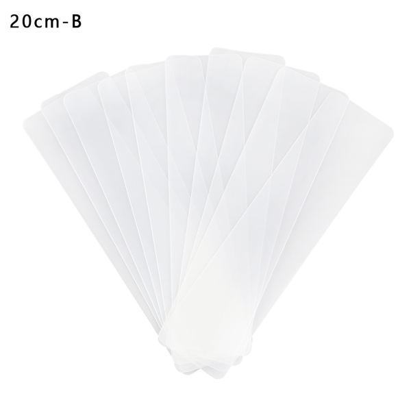 10pcs/lot Subpackage Plate Bookmark Masking Tape Storage 20CM-B 20cm-B