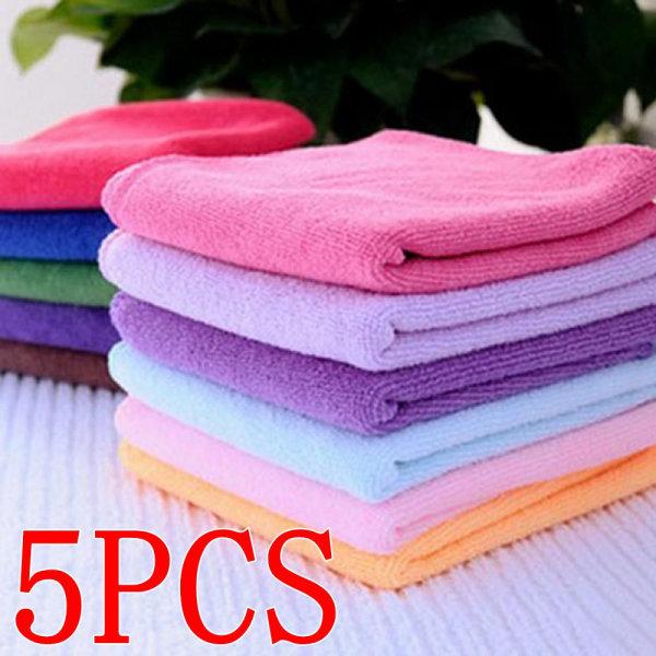 10pcs Towel Wash Cloth Cleaning Towels 5PCS 5PCS