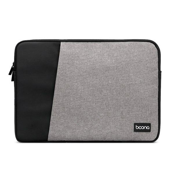 13 14 15,6 tum bärväska ärmfodral bärande täckning SVART & GRÅ