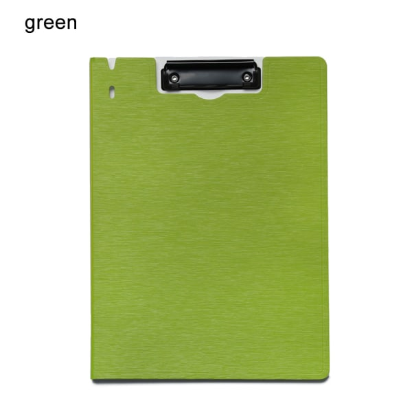 1Pc Clipboards Writing Pad Filing Clip GREEN green