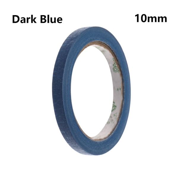 1PC Masking Tape Adhesive Car Sticker DARK BLUE 10MM dark blue 10mm