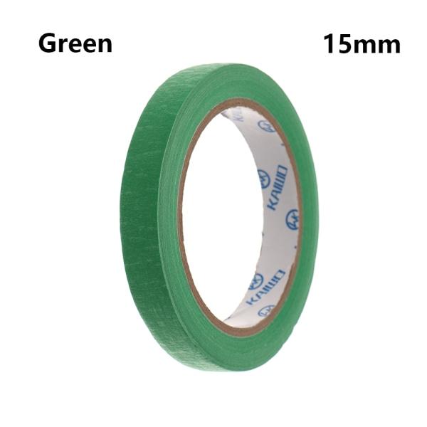 1PC Masking Tape Adhesive Car Sticker GREEN 15MM green 15mm