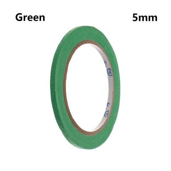 1PC Masking Tape Adhesive Car Sticker GREEN 5MM green 5mm