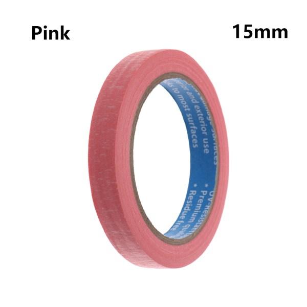 1PC Masking Tape Adhesive Car Sticker PINK 15MM pink 15mm