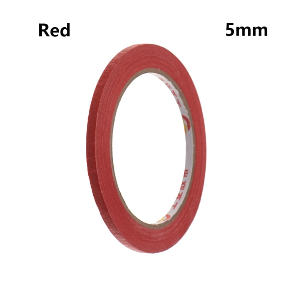 1PC Masking Tape Adhesive Car Sticker RED 5MM red 5mm