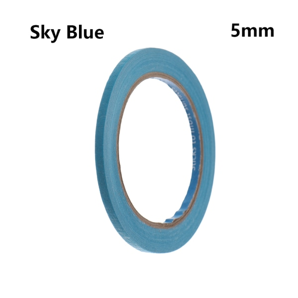 1PC Masking Tape Adhesive Car Sticker SKY BLUE 5MM sky blue 5mm