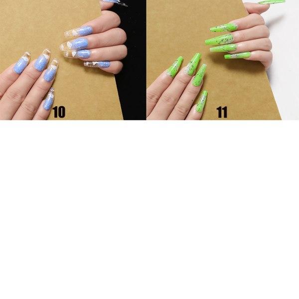24st / låda kista falska naglar bärbar 04 04