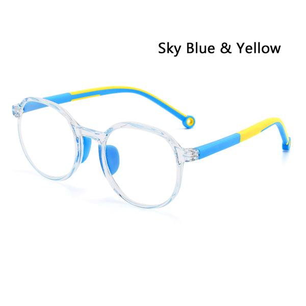 Anti Blue Light Glasses Eye Care SKY BLUE & GUL SKY BLUE & GUL