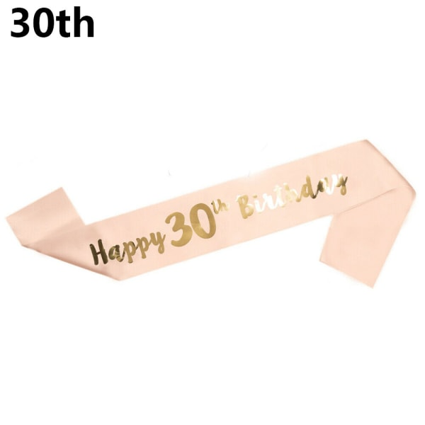 Födelsedag Funny Sash Mom Favor Gift Birthday Girl 30TH