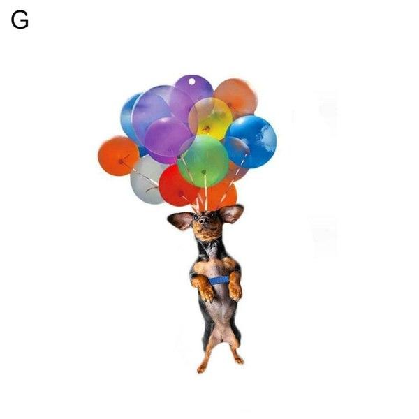 Kattbilhängande prydnadsbilinredning G