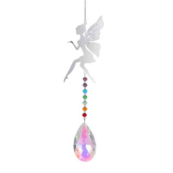 Crystal Pendants Chandelier Wind Chimes 4