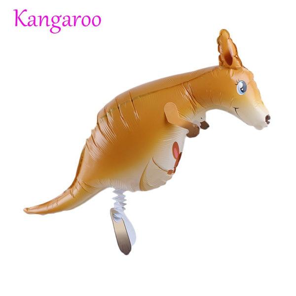 Folieballong Uppblåsbara Walking Animal KANGAROO