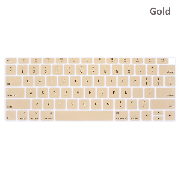 Keyboard Cover Protector Film Sticker GOLD