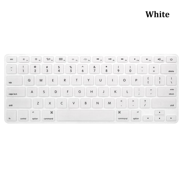 Keyboard Cover Protector Film Sticker WHITE