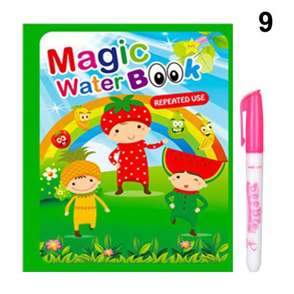 Magic Water Drawing Book Drawing Board 9