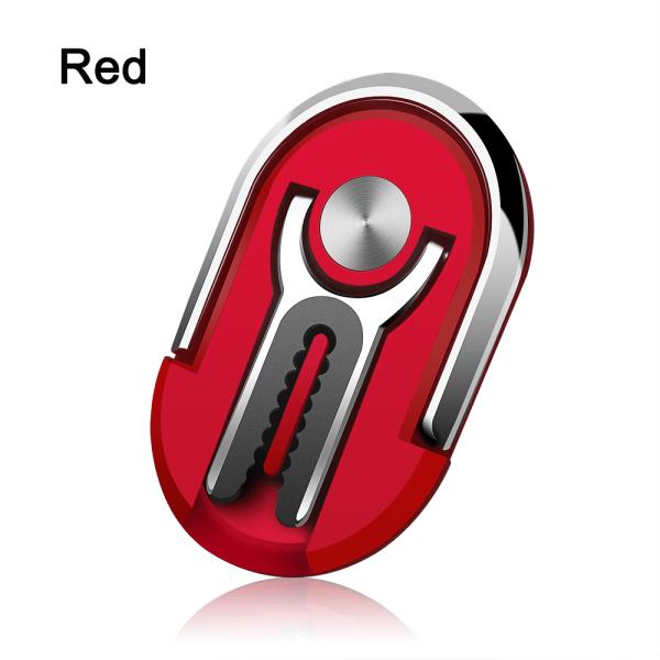 Magnetisk telefonhållare Fingerringfäste RÖD