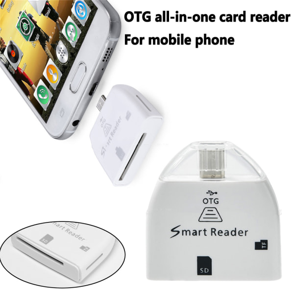 Memory Card Reader OTG Adapter for Micro SD SD&TF