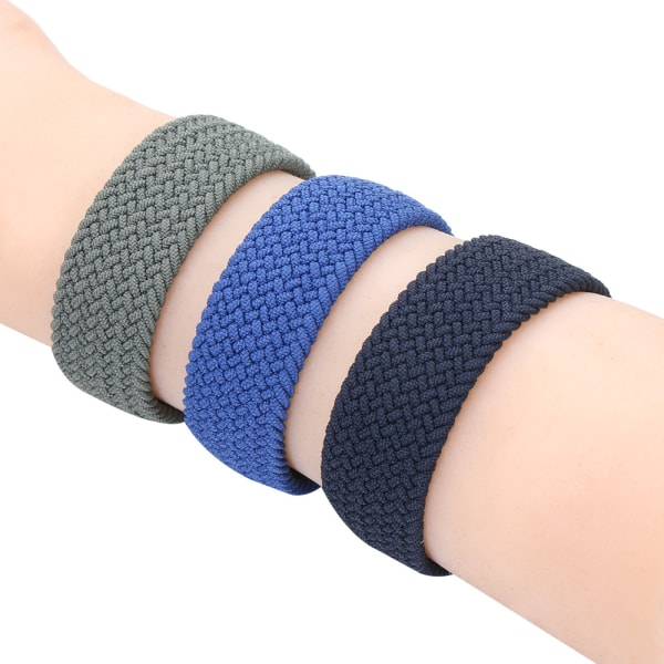 Solo Loop Strap Watchbands DARK OLIVE GREEN 38 / 40MM # 3