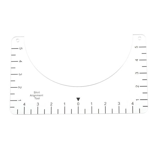T-Shirt Guide Linjal Vinyl Linjaler 10INCH