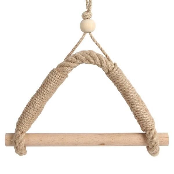 Vintage toalettpapperhållare för hängande rep STIL A