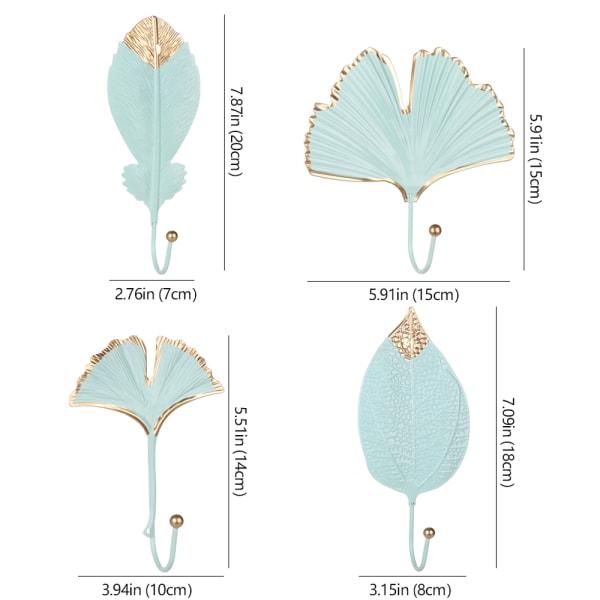 Smidesjärn krokbladform GULD HH