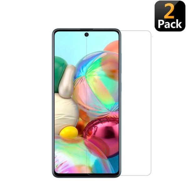 [2-Pack] Skärmskydd Samsung Galaxy A51 Transparent