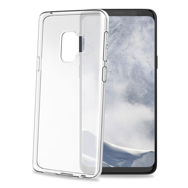 Celly Gelskin Cover Transparent Mobilskal för Galaxy S9 Transparent